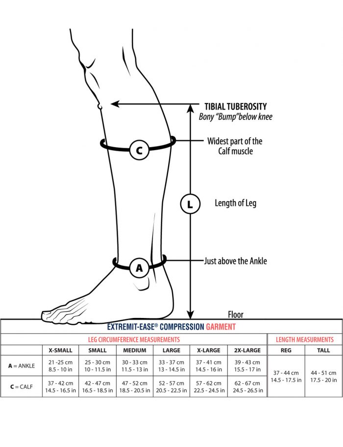 EXTREMIT-EASE Compression Garment Measuring