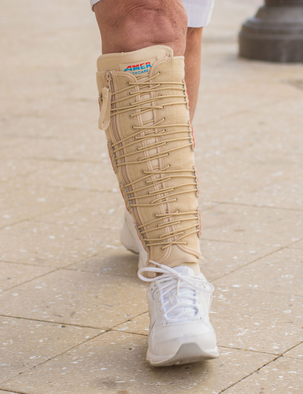 EXTREMIT-EASE Compression Garment on woman walking