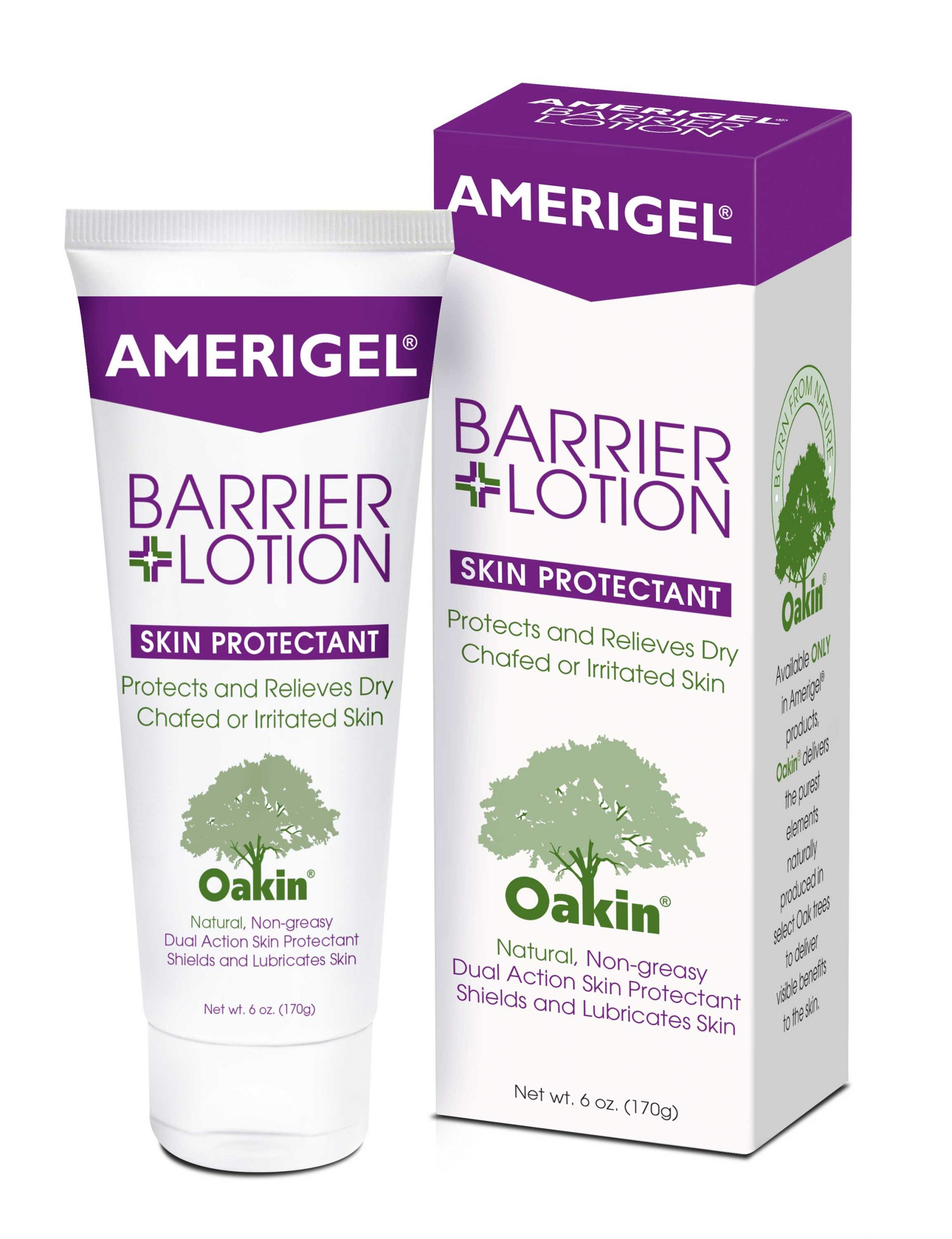 6 oz. tube of AMERIGEL Care Lotion with its box