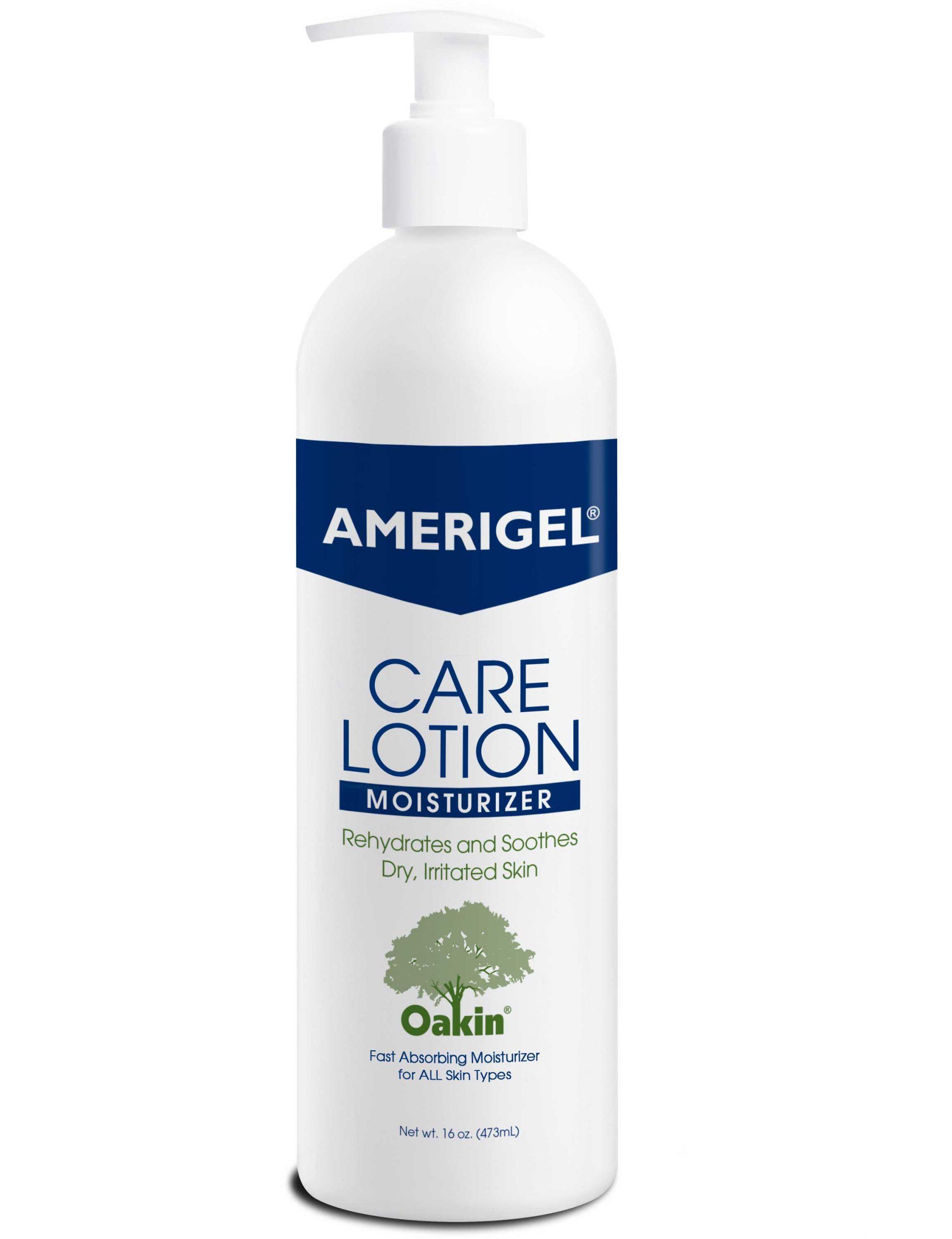 16 oz. pump bottle of AMERIGEL Care Lotion