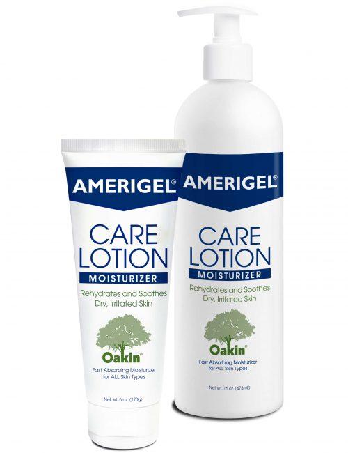 6 oz. tube and 16 oz. pump bottle of AMERIGEL Care Lotion