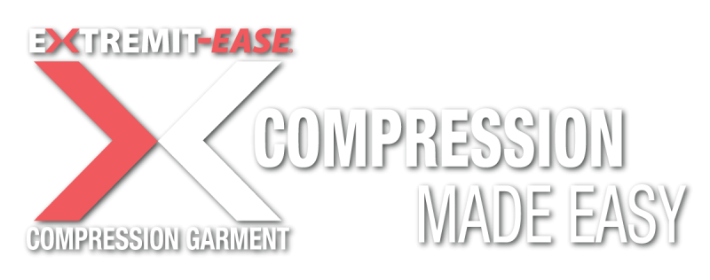 EXTREMIT-EASE Compression Garment logo with Compression Made Easy tagline